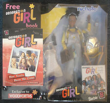 BARBIE GENERATION GIRL Series 1 c1998 NICHELLE Sealed Box with Free Book