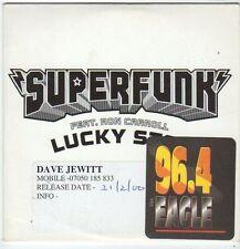 (FI314) Superfunk ft Ron Carroll, Lucky Star - 1999 DJ CD
