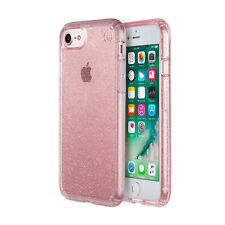 SPECK iPhone 7 Presidio Shockproof Heavy Duty Tough Case Rose Pink Glitter + SP