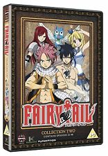 Fairy Tail Complete Collection 2 DVD New & Sealed Region 2 ANIME Manga Fairytail