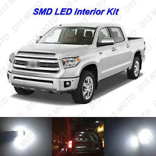 18 x Ultra White SMD LED interior Lights Kit for 2007-2015 2016 Toyota Tundra