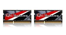 16GB G.Skill Ripjaw DDR3 2133MHz SO-DIMM Low-voltage 1.35V laptop kit 2x8GB CL11