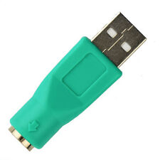 USB Male To PS2 Female Computer Adapter Converter PC Keyboard Mouse Adapter