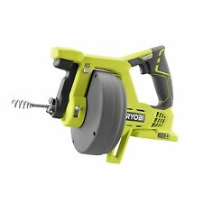 Ryobi ONE+ DRAIN AUGER 18V Auto-Feed Lock 7.6m Cable For Durability & Strength