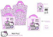 Hello Kitty 'Woodland Animali' Allungabile Borsa Shopping Shopper Nuovo