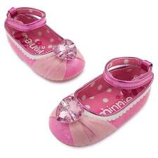 12-18 m months Minnie Mouse Shoes Pink Disney Store baby Costume Jewel Heart New
