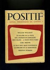 Cinéma revue POSITIF 8-9-10/1954 Wellman Hulot Prévert Ciné mexicain Bunuel...