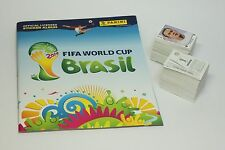 Original Panini World Cup 2014 complete set of 640 stickers + empty album