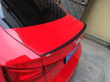 2016 newest design Carbon Fiber Rear Trunk Spoiler Wing For Audi A3 S3 Sedan 4-D