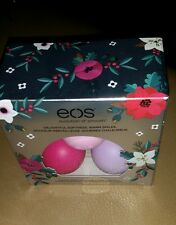 EOS Limited Edition Set of 3 Lip Balm  Passion Fruit Honey Apple & Wildberry