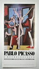 "Vtg PABLO PICASSO ""The Three Dancers"" Poster. MOMA Museum of Modern Art NY 1980"