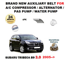 FOR SUBARU TRIBECA 3.0i B9 2005> AUXILIARY BELT FOR AC ALTERNATOR PAS WATER PUMP