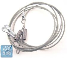 1965-70 GM B Body Convertible OEM Top Hold Down Cables With Springs - Pair