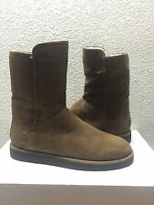 UGG CLASSIC LUXE COLLECTION ABREE SHORT BRUNO SUEDE Boot US 12 / EU 43 / UK 10.5