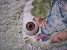 LiFe LiKe AcRyLiC EyEs 22MM BriLLiAnT HaZeL ~ REBORN DOLL SUPPLIES