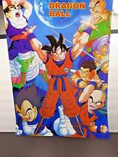 "Dragon Ball Z Characters 20.75"" x 14.75"" Poster Print Anime Super Goku"
