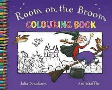 Room On The Broom Colouring Book  By Julia Donaldson - Brand New