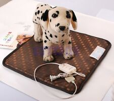 Waterproof Pet Dogs Cat Puppy Electric Heated Heating Pad Mat Blanket  Hot