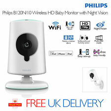 Philips Baby Monitor Night Vision 4G Wi-Fi CCTV Video Camera Audio Talk to Baby