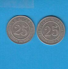 GERTBROLEN Nouvele-Calédonie Nouméa Société Le Nickel 25 Centimes 1881