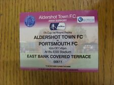 19/11/2014 Ticket: Aldershot Town v Portsmouth [FA Cup Replay] (Pink Away Ticket