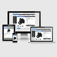 eBay Auktionsvorlage Clever Blau Responsive Design HTML Template Vorlage