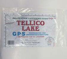 Atlantic Mapping Tellico Lake Map with GPS Coordinates for 151 locations