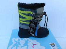 Trespass Finbar Bottes de ski Neige Snow Chaussures Enfants 28 Fourées UK10 Neuf