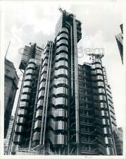 1986 Construction Lloyd's of London Building 1980s England Press Photo