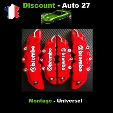 CACHE ETRIER DE FREIN BREMBO 3D UNIVERSEL ROUGE TUNING BMW 318IS,328I COUPE