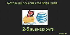 100% GUARANTEE ! Nokia Lumia - All Models - AT&T FACTORY UNLOCK CODE SERVICE -