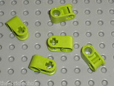 LEGO TECHNIC lime axle joiners ref 6536 / set 7707 8649 8256 8049 8961 8190 8060
