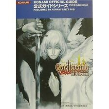 Castlevania: Aria of Sorrow Strategy Guide Book / GBA