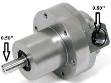 OBX High Flow External Belt Drive Fuel Pump 1500HP 10AN -10AN Billet Aluminum