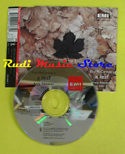 CD Singolo PAUL McCARTNEY A leaf ANYA ALEXEYEV 1995 uk EMI no lp mc dvd(S13)