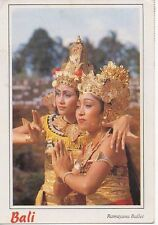 Bali Postcard Ramayana Ballet Balinese Indonesia dance Visualisation Sanskrit