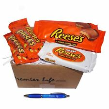 Reese's Chocolates Treat Box - Pieces, Milk and White Butter Cups & FREE Pen