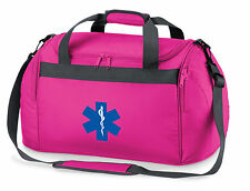 1 x Star of Life Pink Holdall/Work Bag Paramedic First Responder Medic St John
