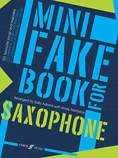 Mini Fake for Saxophone Instrumental Solo Learn to Play SONGS FABER Music BOOK