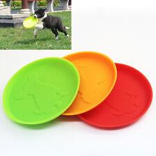 1PC Hund Frisbee Flying Disc Außen Haustier Hundetrainings Holen Spielzeug