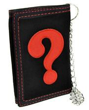 ? Question Mark Tri-fold Wallet with Chain Alternative Clothing Scifi Everything
