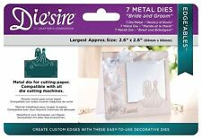 Diesire 'Edge'ables' Collection Card Border Cutting Dies - Bride And Groom