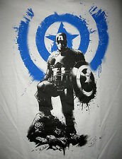 Marvel/DC: CAPTAIN AMERICA STAND T-Shirt (M), (figure/legends)