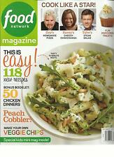FOOD NET WORK MAGAZINE, SEPTEMBER, 2013 ( THIS IS EASY 118 NEW RECIPES )