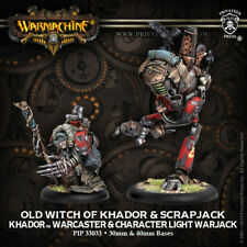 Warmachine: Khador Old Witch of Khador and Scrapjack PIP 33033 FREE SH