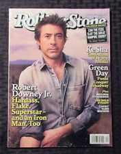 2010 ROLLING STONE Magazine #1104 VF- 7.5 Robert Downey Jr Ke$ha Green Day