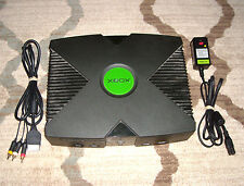 Microsoft Xbox Console System W/ Both Cords Fully Tested Working Original XBOX