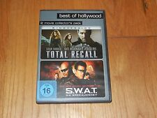 2 Filme Total Recall & S.W.A.T. in 2 movies collector's pack