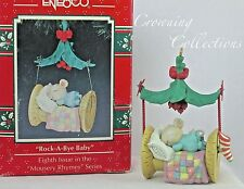 Enesco Mice Rock-a-Bye Baby Treasury of Christmas Ornament Mousery Rhymes 8th #8