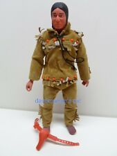 Lone Ranger Rides Again Gabriel 10in. TONTO Action figure not complete 1973